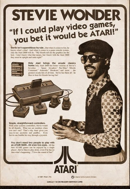 Stevie Wonder loves Atari